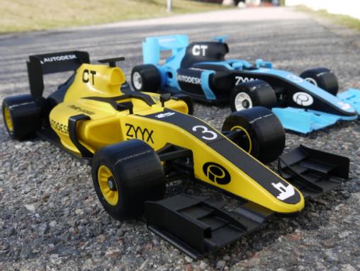 3D打印的RC赛车