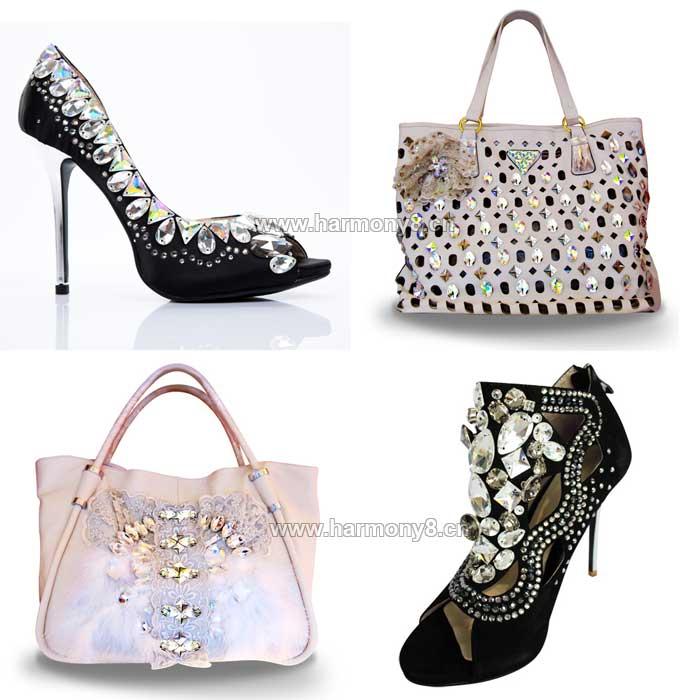 包包,鞋子,手缝石