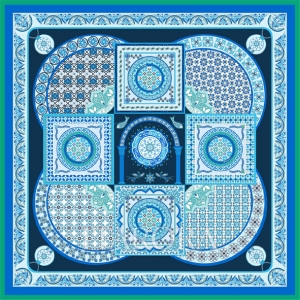S1-012翠蓝叠影