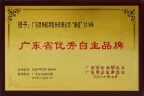 09-广东省自主优秀企业