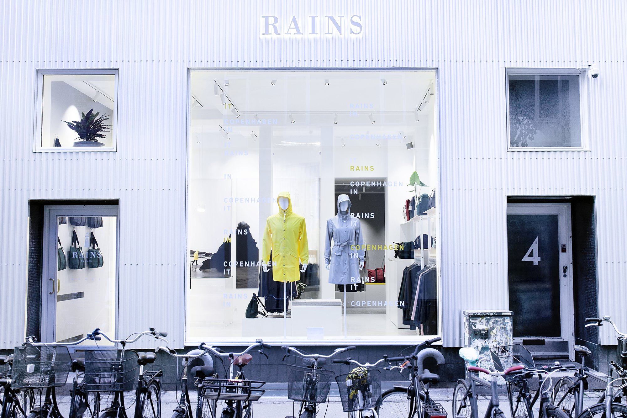 RAINS Store Copenhagen