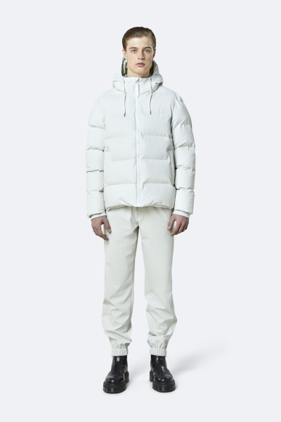 Puffer Jacket, 米白色