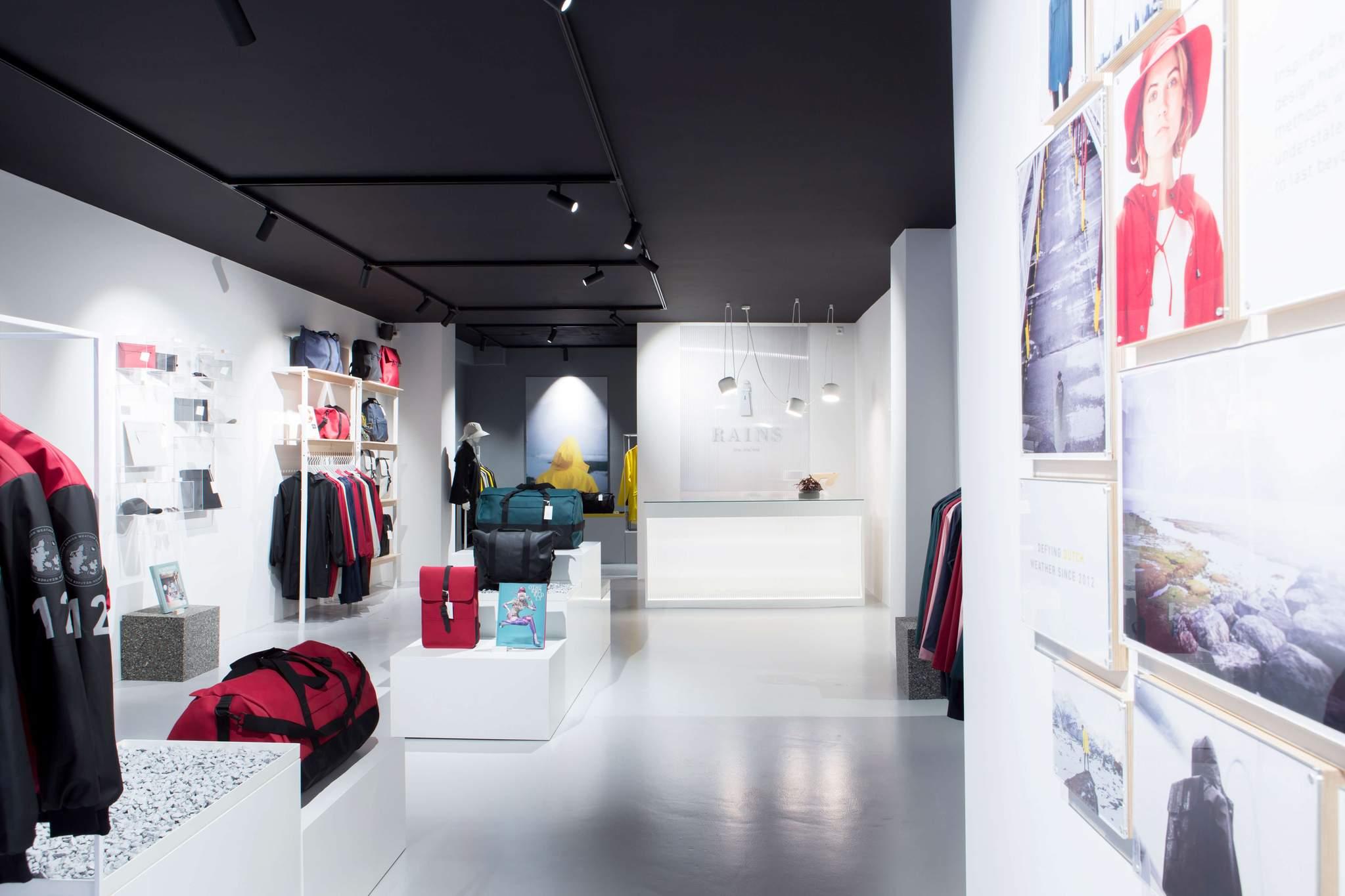 RAINS Store Amsterdam