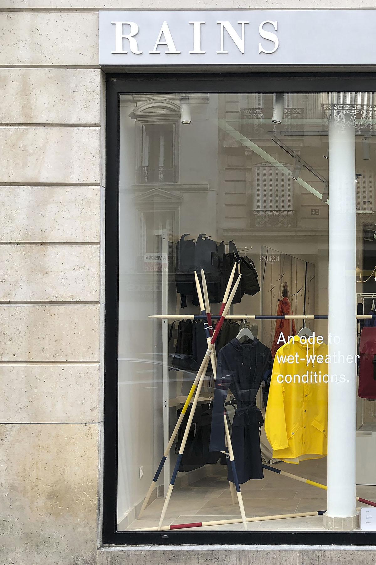 Rains Store Paris Rue du Four