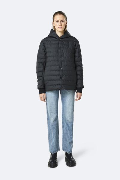 Trekker Hooded Coat, 黑色