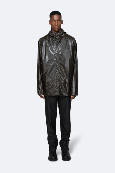 Jacket, 亮面棕色