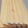 包邮免漆桑拿板扣板实木阳台吊顶装饰墙裙室内护墙板材隔墙板山东