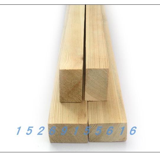 木龙骨实木方木条松木条烘干刨光龙骨家装工装隔墙吊顶桑拿板花架