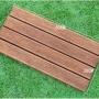 硬木阳台地板防腐木地板户外庭院露台室外实木菠萝格DIY拼接地板