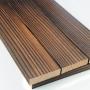 碳化木板材户外露平台地板室外庭院阳台防腐德州泰安东营山东济南