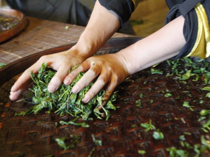 武夷岩茶工艺流程
