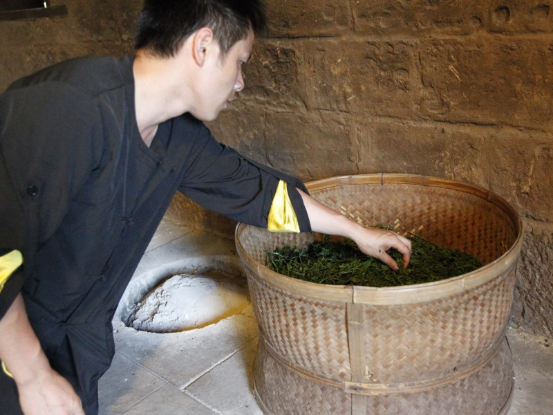 武夷岩茶工艺流程 烘干