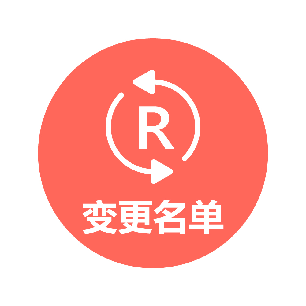 9、变更集体商标证明商标集体成员名单