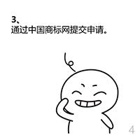三:通过中国商标网提交申请