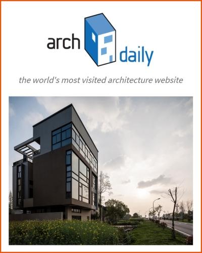 """2020年7月,丰间建筑作品""""Ti-House""""收录于国际知名建筑网站ArchDaily -"""