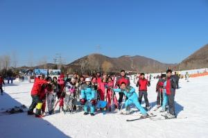15年年会滑雪