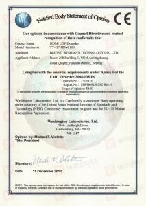 HDMI100证书