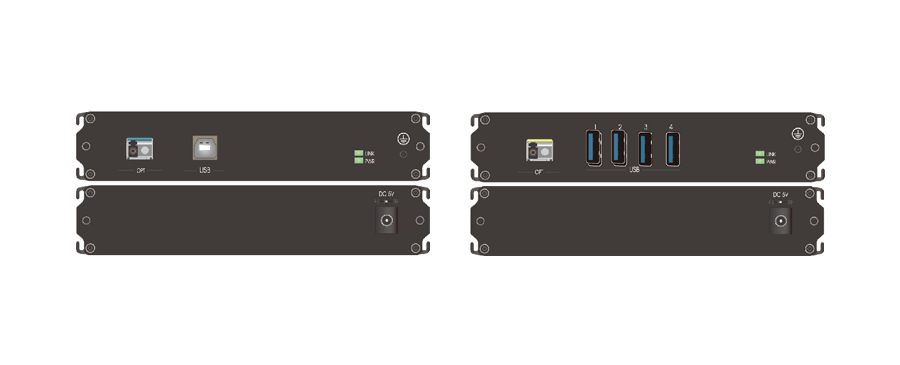 USB3.0光端机面板