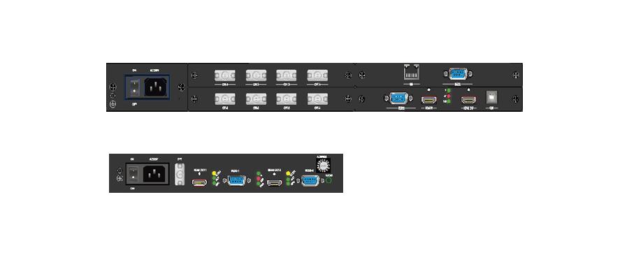PIS高清视频光端机面板(星状)