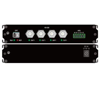 4路高清HD-cSDI光端机