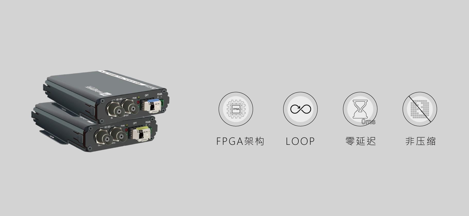 3G-SDI非压缩高清光端机(S111G)