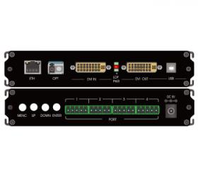 DVI+USB单纤非压缩高清光端机