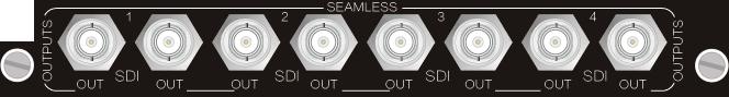 4O-SS,SDI 无缝输入、输出信号卡