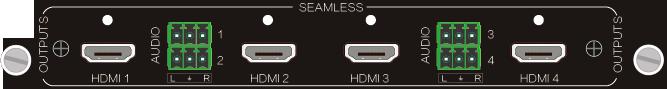4O-UH,HDMI 4Kx2K 信号卡