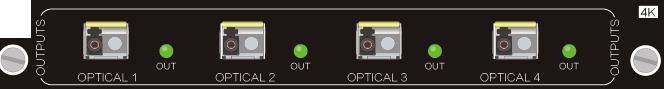4O-UF,4K 光纤信号卡