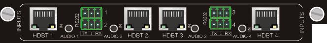 4I-BT,HDBT 4Kx2K 远传信号卡