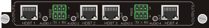 4O-BT,HDBT 4Kx2K 远传信号卡