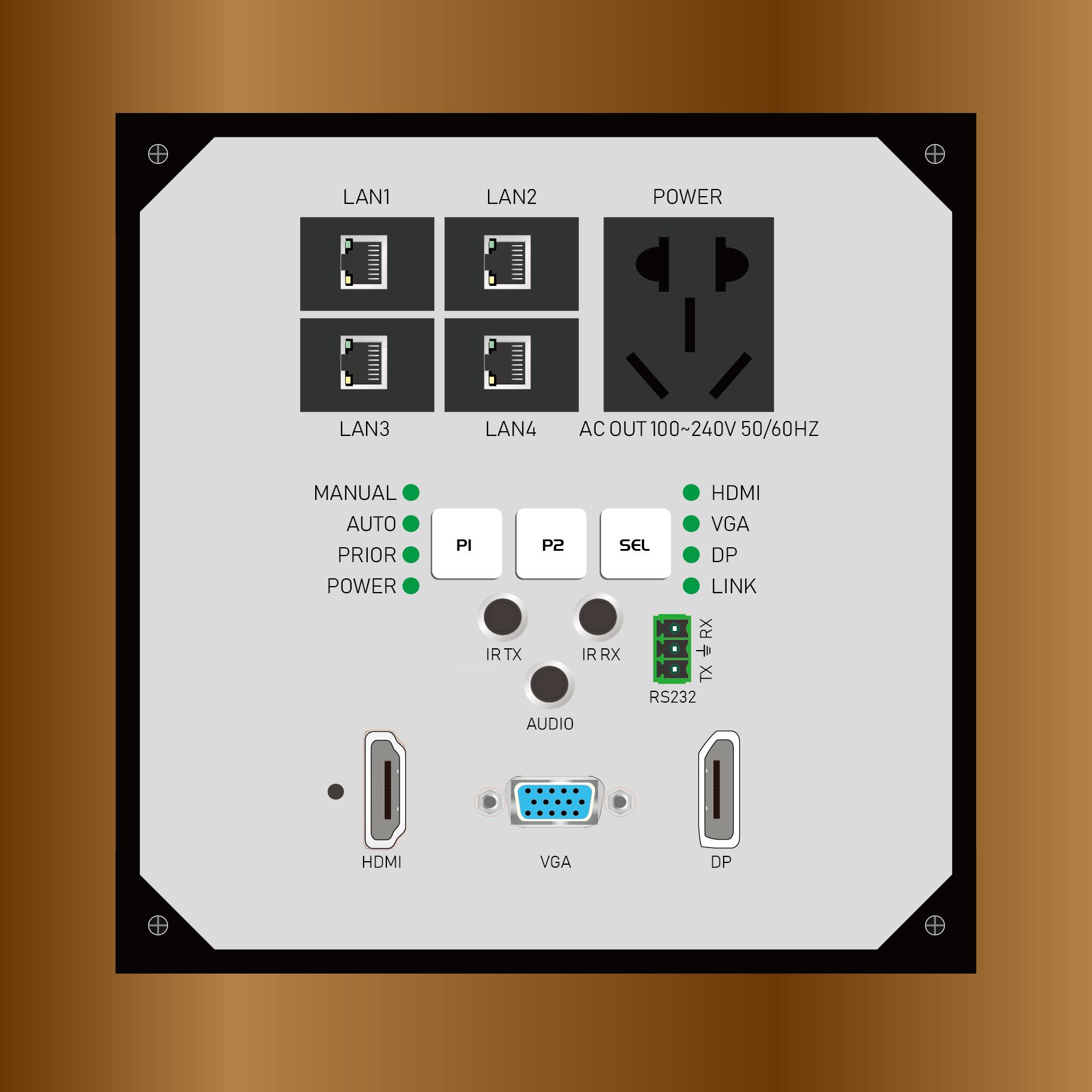 TY-HPH100-TX-T面板