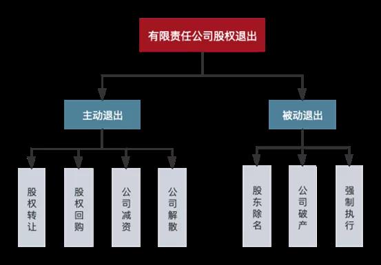 相忘于江湖——有限责任公司股东退出路径