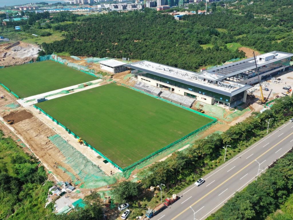 足球中心训练基地