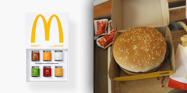 汉堡味的香氛蜡烛?肯德基、麦当劳怎么想的?