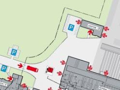 消防救援路径可视化