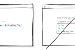 如何快速提高网站转化率---不要盲目使用下拉菜单【14】