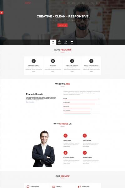 源码PC/手机浅灰色设计机构网站模板