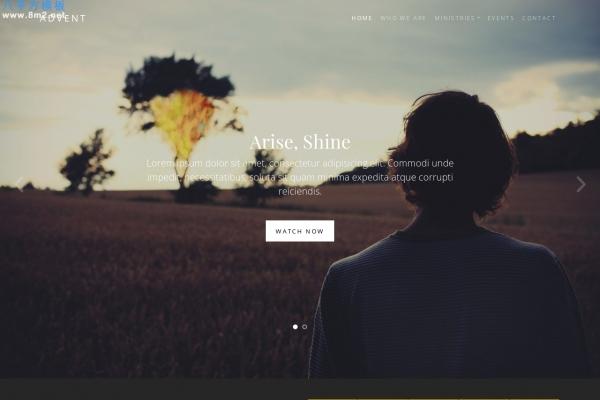 大气HTML5/CSS3湖水绿色灰色医学网站模板