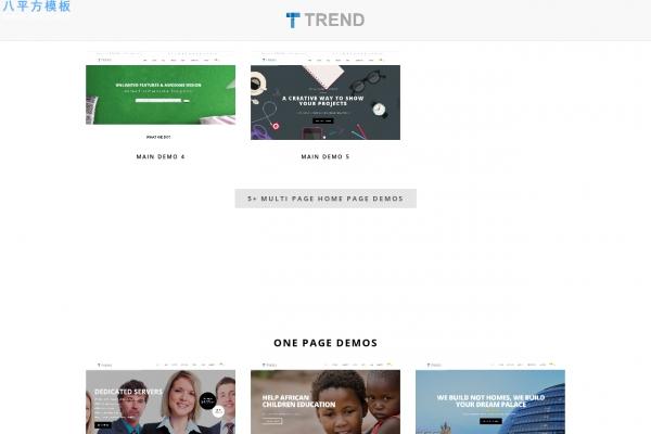 高端HTML5/CSS3灰色白色企业网站模板