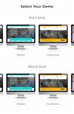大气bootstrap玫瑰红色白色多用途网站模板