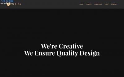 精品PC/手机传统浅褐色灰色企业网站模板