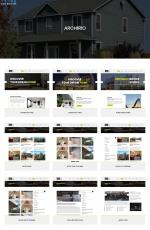 源码HTML5/CSS3白色绿色室内设计网站模板