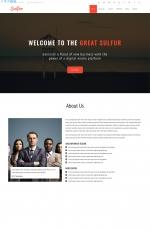 开源精美白色米色商业网站模板