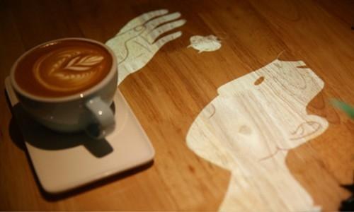 Drops Coffee Studio 互动动画