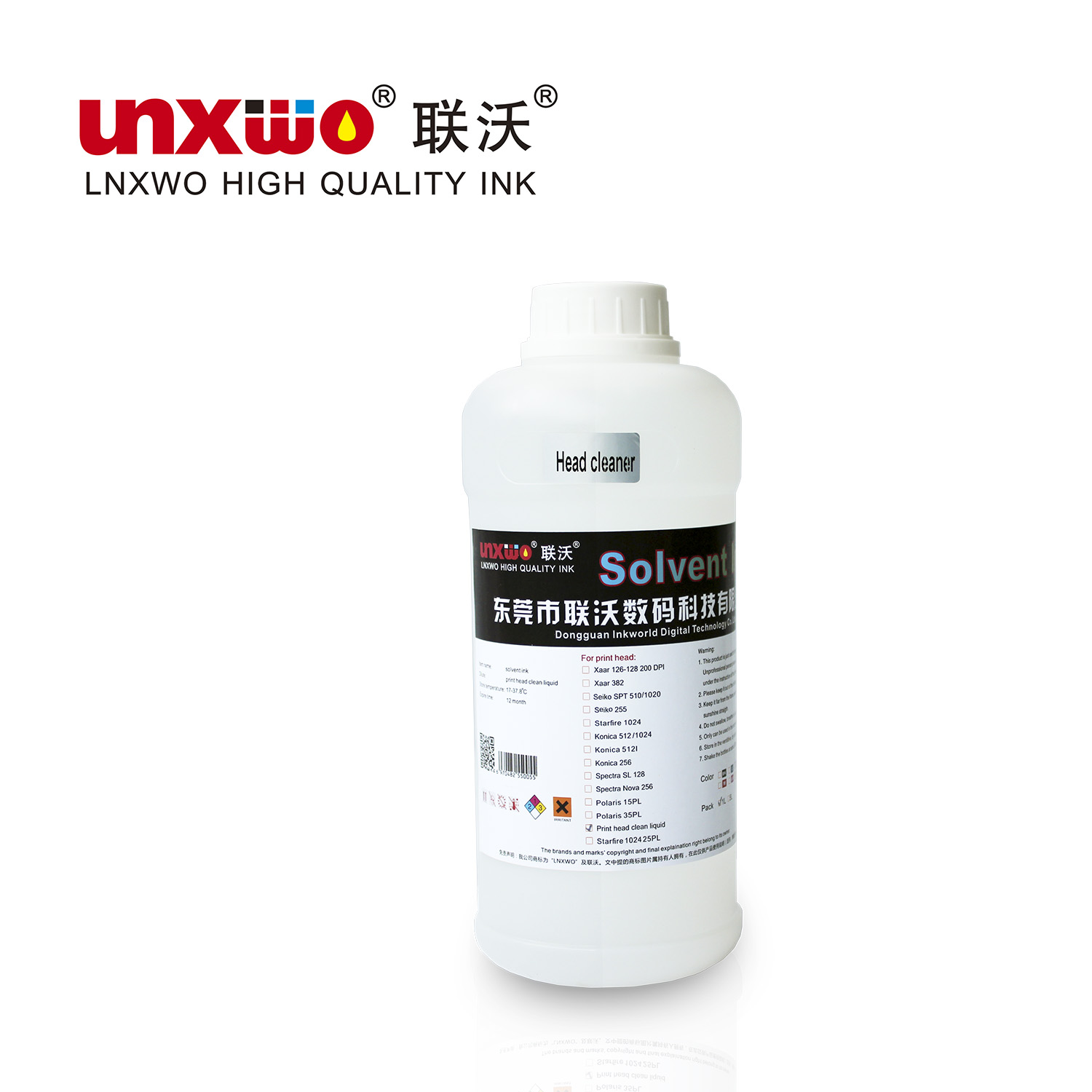 1L solvent cleaner round