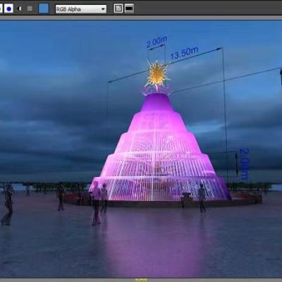 灯光雕塑设计