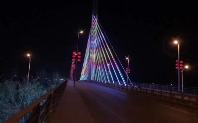 桥梁亮化工程案例