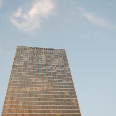 万豪酒店楼顶楼体发光字高端设计制作施工一站式服务