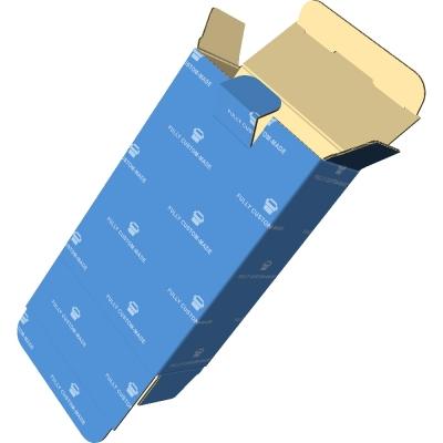 709管式盒_盖后开直插_安全扣_底前开直插_微坑3